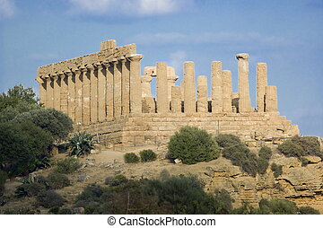 Temple of Juno Lacinia, Agrigento - Temple of Juno Lacinia...