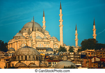 Beautifully Lit Mosque Images And Stock Photos 12