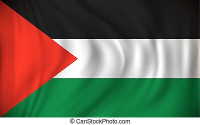 Flag of West Bank