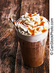 Frappe coffee - Delicious frappe coffee on the table