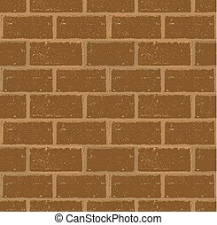 Seamless brick wall in grunge style