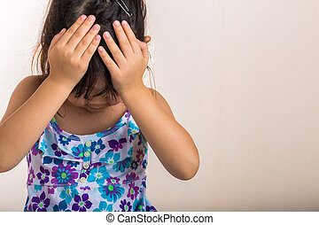 Child Disappointed / Child Disappointed Background - Little...