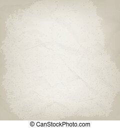 Old crumpled paper grunge background. Vector illustration
