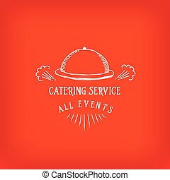 Catering service, design logo. - Catering service and design...