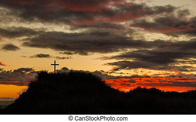 Sunset Dune Cross