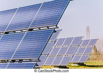 paneles,  solar
