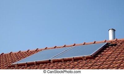 Energy from renewable sources - solar collectors