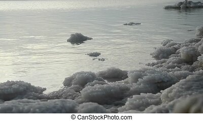 Dead sea shore - Beauty of the Dead sea