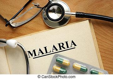 papel, palabra,  Malaria