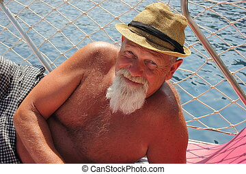 An englishman with a beard - An englishman with on vacation...
