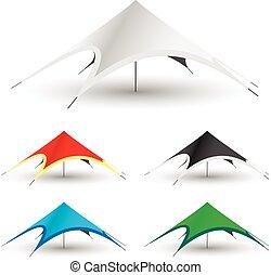 Gazebo Tent Icon