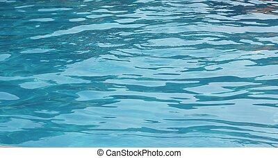 Blue sea - Clear blue sea water