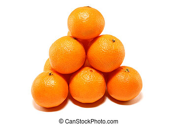 Hill of tangerines