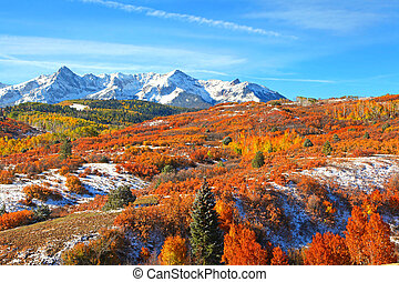 Dallas divide - Beautiful Dallas divide landscape in...