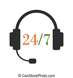 Round-the-clock support service - 24h support service....