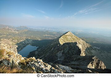 Lonely mountain in Polish Tatras, Carpathians.