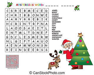 game for children for christmas - game for children : find...