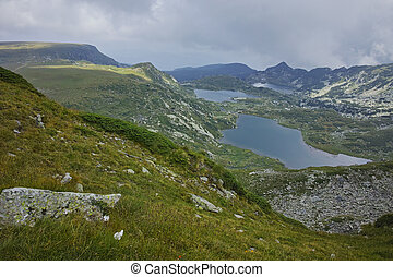 The Seven Rila Lakes, Bulgaria - The Twin, The Trefoil and...