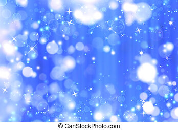 beautiful blue Christmas background