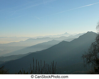 Col Del Lis - View of Col Del Lis valley in Italy
