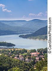 Visegrad Hungary, Danube river