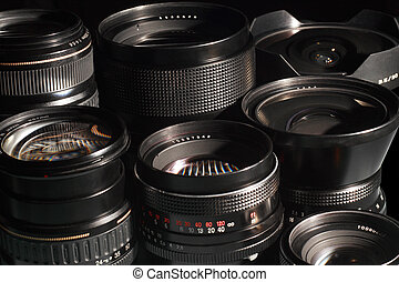Photo camera lenses