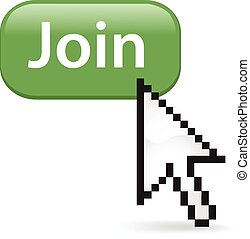 Join Button Click - Join button with a cursor arrow.
