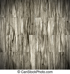 Wooden planks - Abstract generated wooden planks timber...