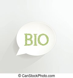 BIO - Bio speech bubble