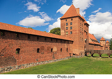 Malbork - The Old Gothic castle in Malbork, Poland.