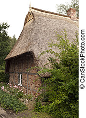 Thatched Roof House in Germany