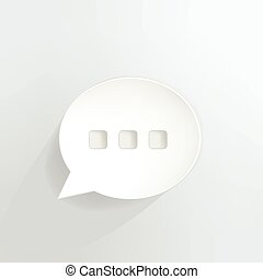 Chat Bubble - Ellipsis speech bubble