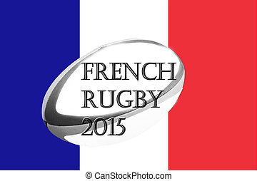 French rugby flag