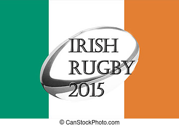 Irish rugby flag