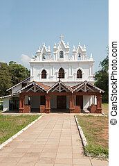 Goa church - A church in Goa, India