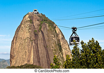 Sugarloaf Mountain and the Cable Ca - Sugarloaf Mountain...
