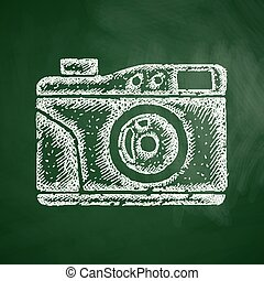 old photocamera icon