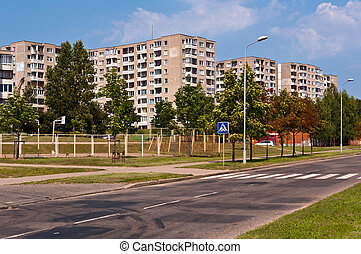 Typical Socialist Blocks of Flats Built During Communism...