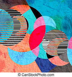 abstract pattern - bright graphic abstract pattern of the...