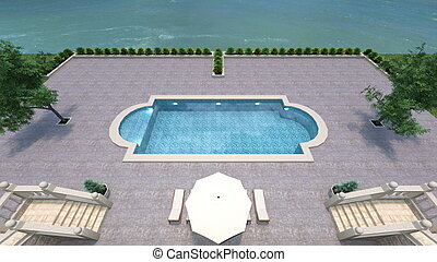swimming pool - Image of swimming pool