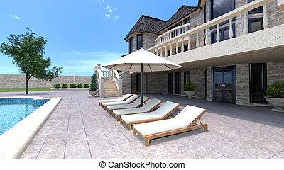 Mansion - Image of mansion