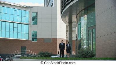 Leaving Business Center