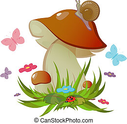 Ceps - Vector ceps. Isolated. EPS 8, AI, JPEG