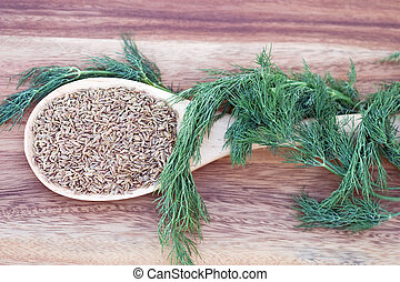 Dill Seed and Weed