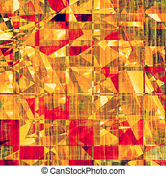 Grunge, vintage old background. With different color patterns: yellow (beige); brown; green; pink