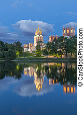 Novodevichy Convent - The Novodevichy Convent, in...