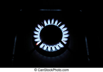 one flame a gas stovel f - one flame a gas stovel in home...