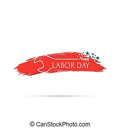 Labor day banner - Labor day banner, sign National Day of...