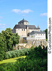 Mighty and strong castle of Kost in the Bohemian Paradise