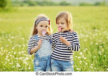 two little friends girls